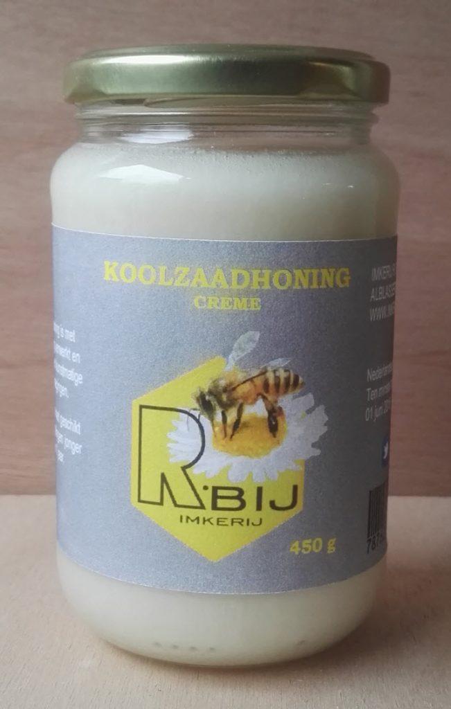 Koolzaadhoning-creme-450gram